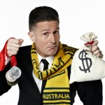 Wil Anderson - host of Gruen Sweat